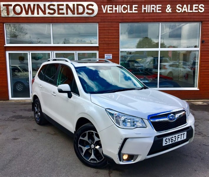 used Subaru Forester XT 2.0T 240PS AWD Lineartronic in rugby-warwickshire