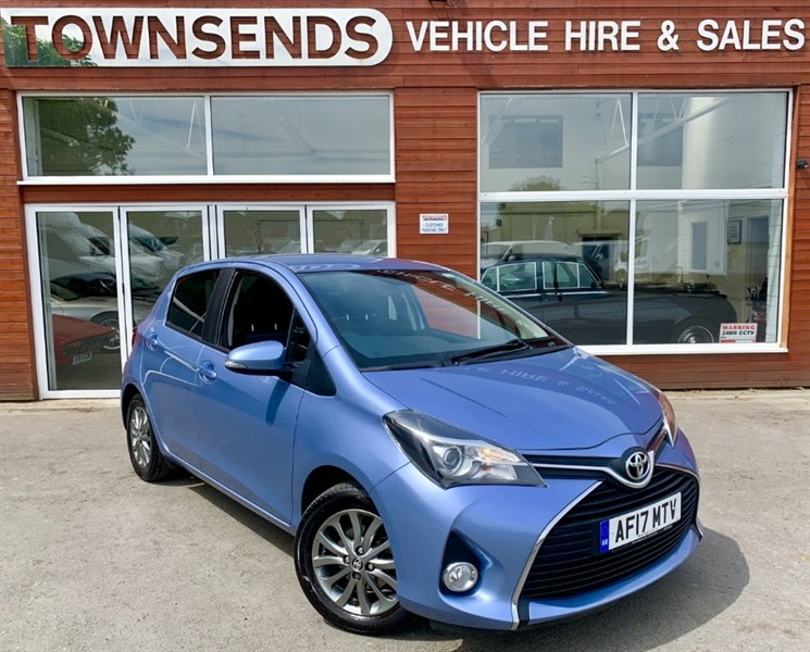 used Toyota Yaris Icon 1.33 VVT-i 99BHP in rugby-warwickshire
