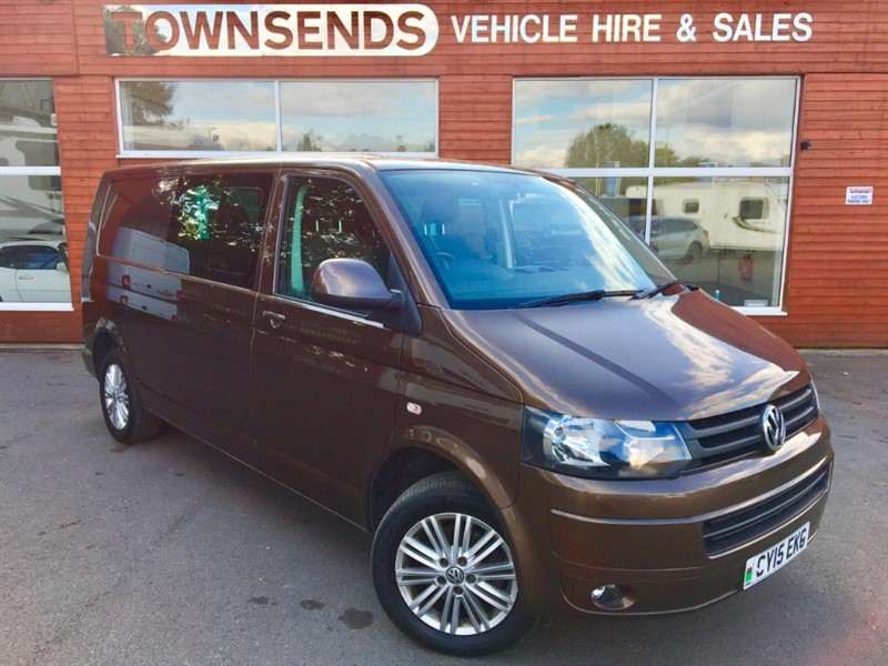 used VW Transporter Highline T32 LWB Kombi 2.0 BiTDI 180PS in rugby-warwickshire