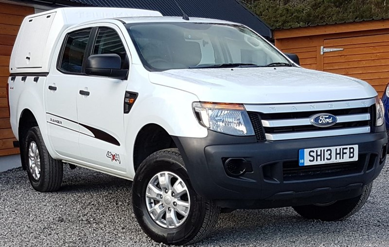 used Ford  RANGER XL 4X4 DCB TDCI in inverness-scotland