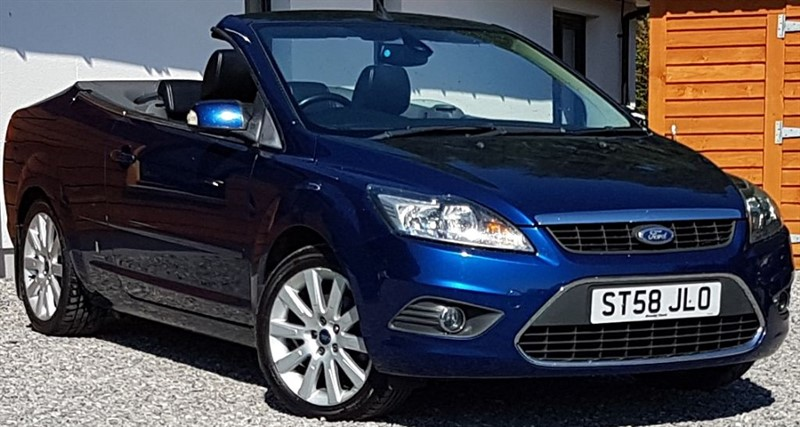 used Ford Focus CC 3 in inverness-scotland
