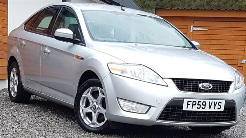 used Ford Mondeo ZETEC TDCI in inverness-scotland