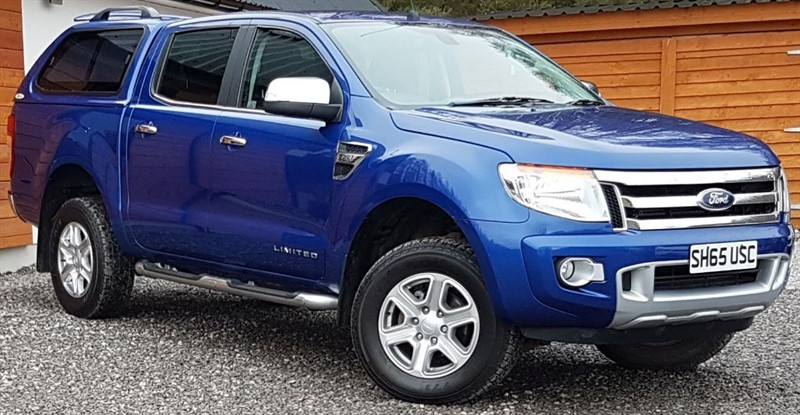 used Ford Ranger LIMITED 4X4 DCB TDCI in inverness-scotland