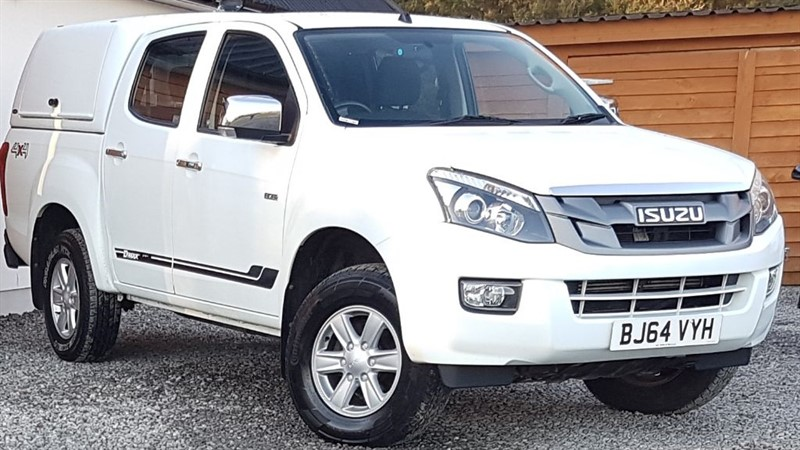 used Isuzu D-Max TD EIGER DCB in inverness-scotland