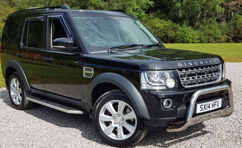 used Land Rover  DISCOVERY SDV6 COMMERCIAL XS in inverness-scotland