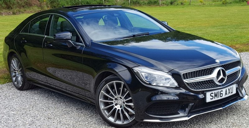 used Mercedes CLS CLS220 D AMG LINE PREMIUM in inverness-scotland