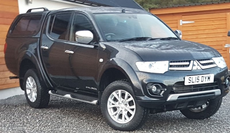 used Mitsubishi L200 Challenger Longer load bay in inverness-scotland
