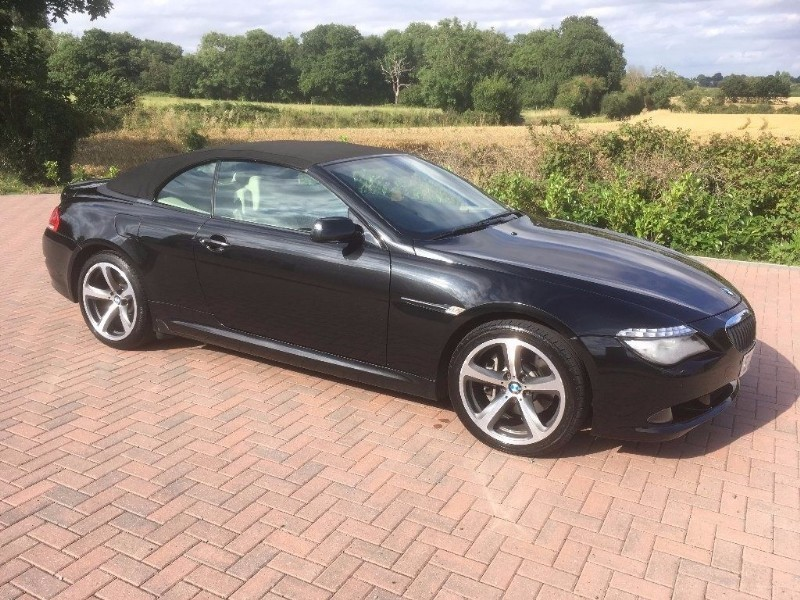 used BMW 630i SPORT in essex