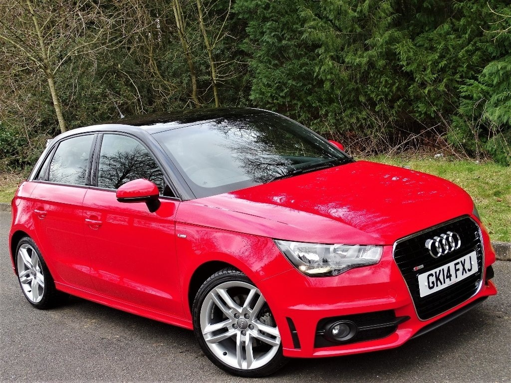 used Audi A1 TDI S Line Sportback 5dr in in-hampshire