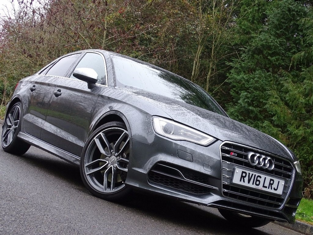 used Audi S3 TFSI Saloon S Tronic Quattro 4dr (Nav) in in-hampshire