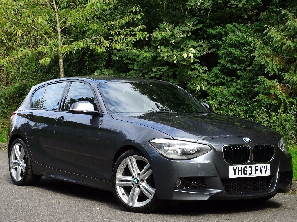 used BMW 120d 1 Series M Sport Sports Hatch 5dr (start/stop) in in-hampshire