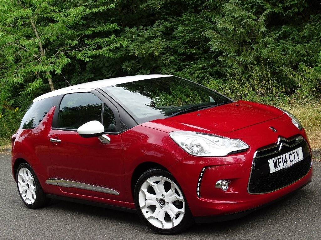 used Citroen DS3 VTi DSign By Benefit 3dr in in-hampshire