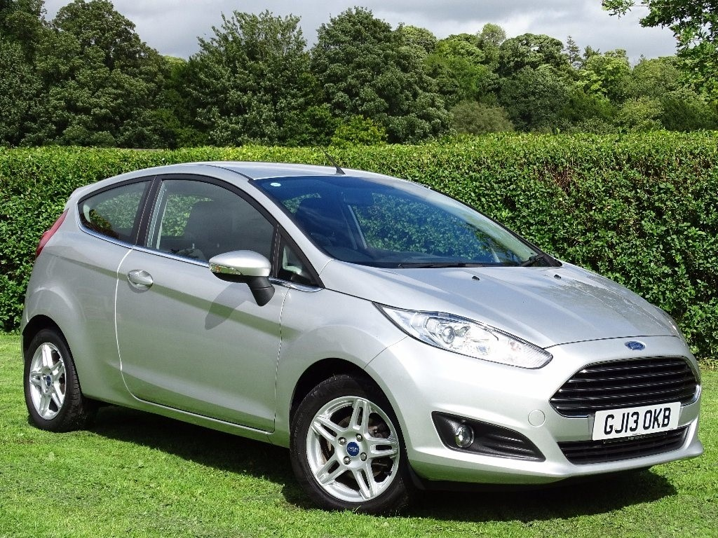used Ford Fiesta Zetec 3dr in in-hampshire