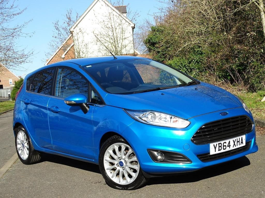 used Ford Fiesta EcoBoost Titanium X (s/s) 5dr in in-hampshire