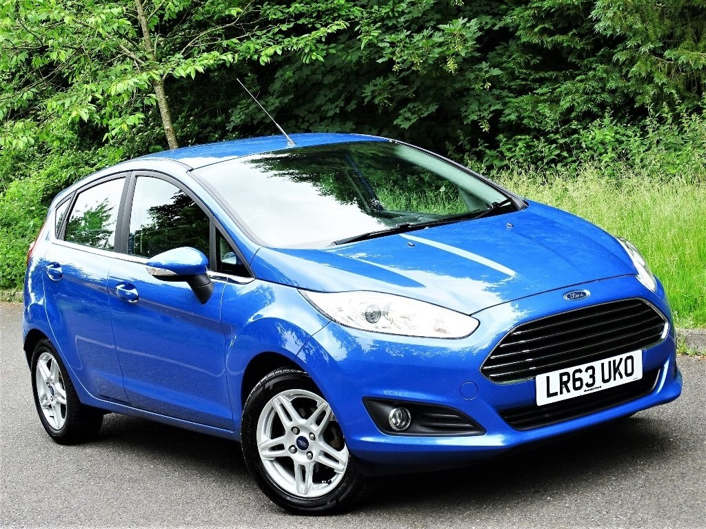 used Ford Fiesta Zetec (s/s) 5dr in in-hampshire