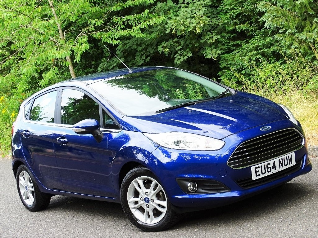 used Ford Fiesta Zetec 5dr in in-hampshire