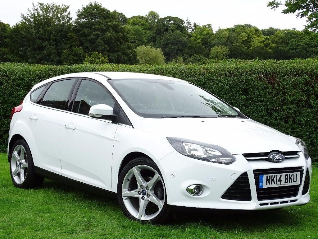 used Ford Focus TDCi Titanium Navigator 5dr in in-hampshire