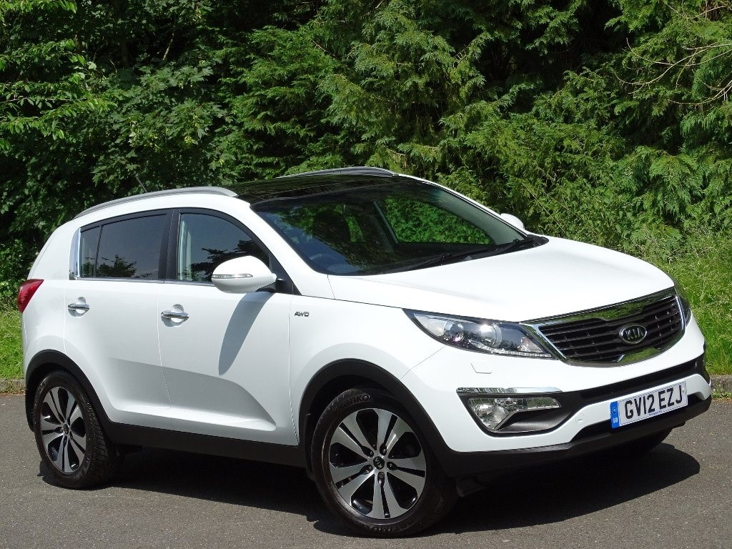 used Kia Sportage CRDi KX-3 AWD 5dr in in-hampshire