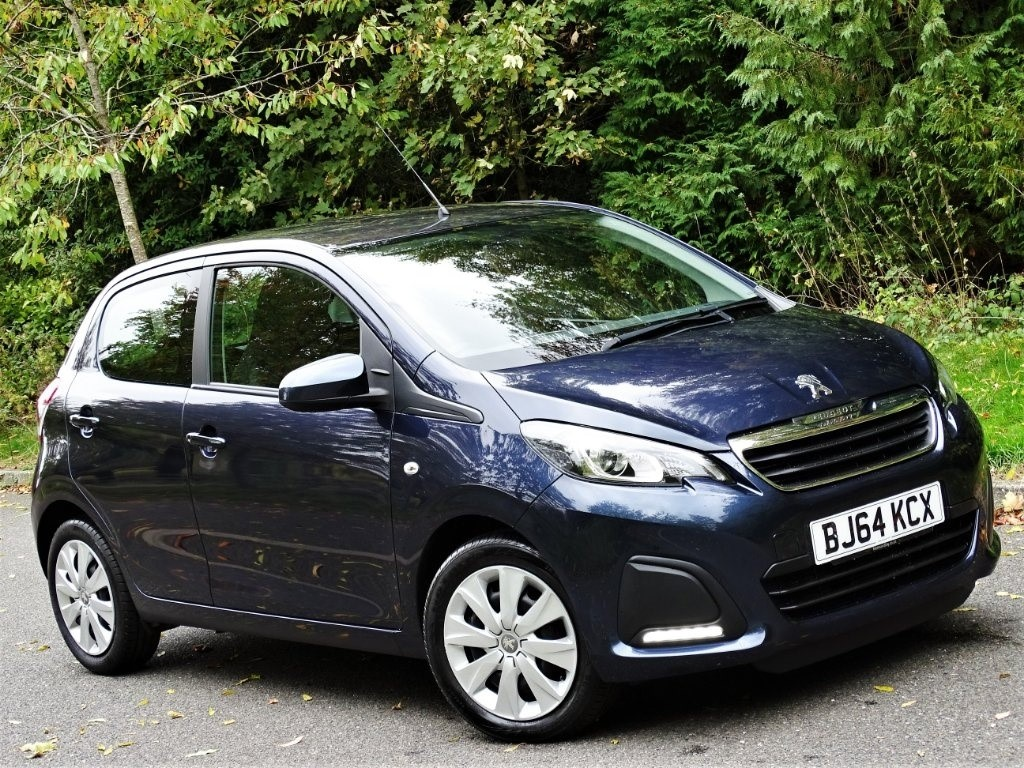 used Peugeot 108 Active 5dr in in-hampshire