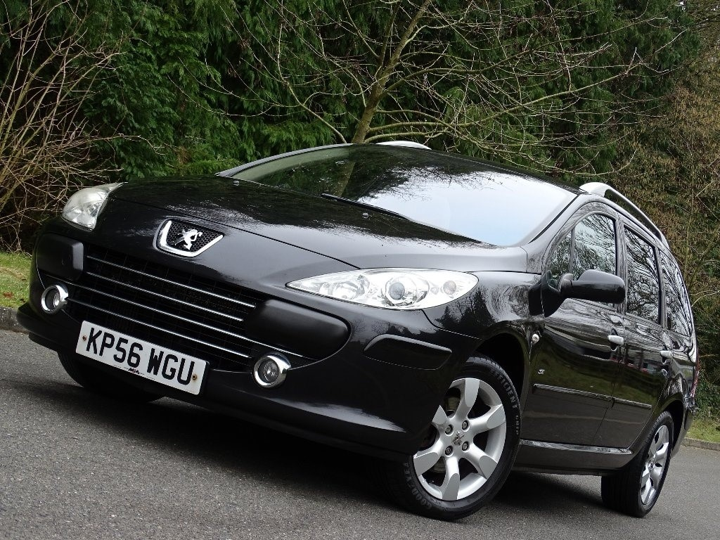 peugeot 307 sw in whitchurch hampshire compucars. Black Bedroom Furniture Sets. Home Design Ideas
