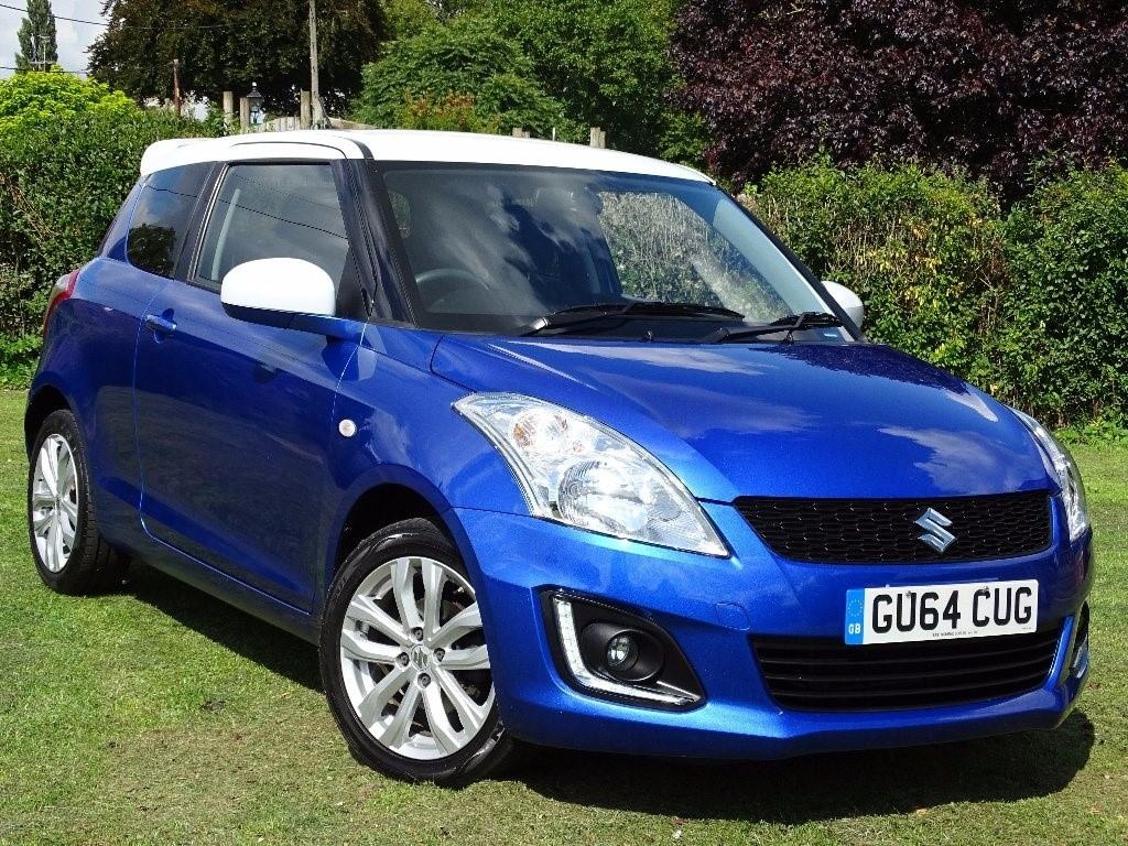 used Suzuki Swift 1.2 SZ-L 3dr in in-hampshire