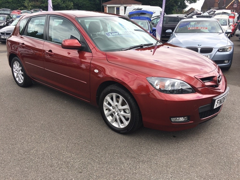 used red mazda mazda3 for sale kent. Black Bedroom Furniture Sets. Home Design Ideas