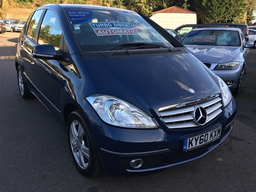 used blue mercedes a180 cdi for sale kent. Black Bedroom Furniture Sets. Home Design Ideas