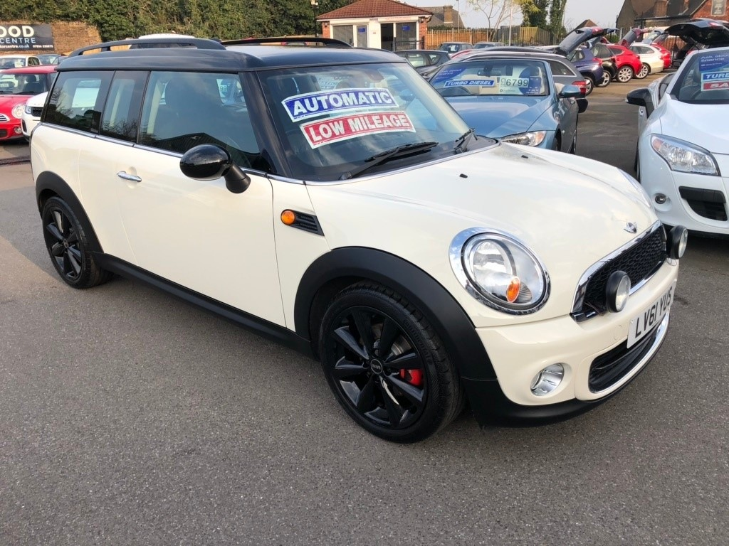 Used White Mini Clubman For Sale Kent