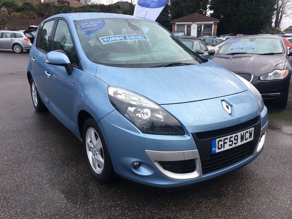 Used Blue Renault Scenic For Sale Kent