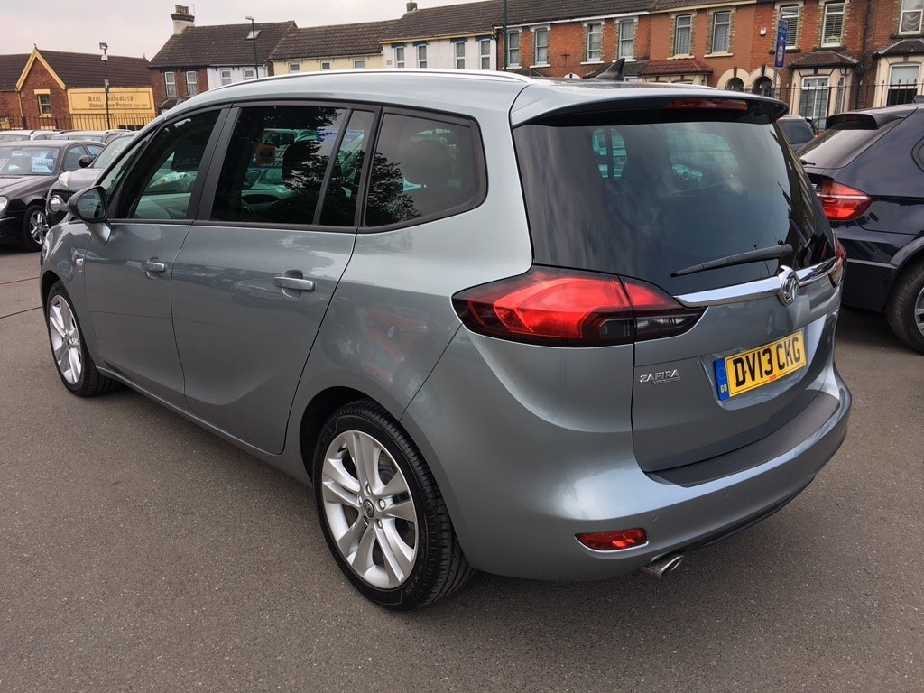 Used Silver Vauxhall Zafira Tourer For Sale Kent