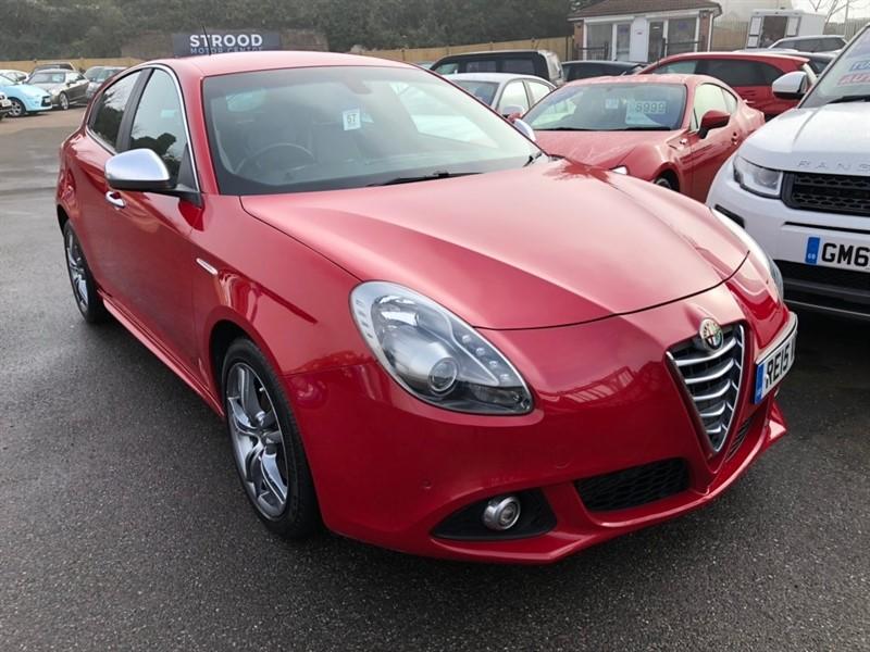 used Alfa Romeo Giulietta JTDM-2 Exclusive ALFA TCT (s/s) 5dr in rochester-kent