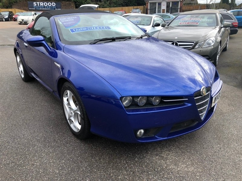 used Alfa Romeo Spider JTDM 2dr in rochester-kent