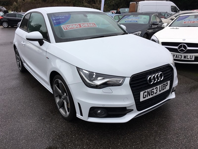 used Audi A1 TDI Black Edition 3dr in rochester-kent