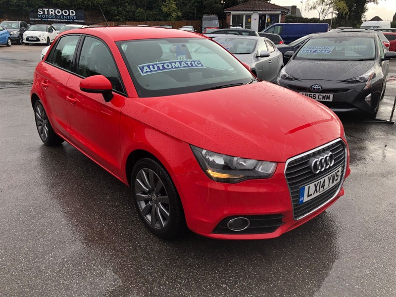 used Audi A1 TFSI Sport Sportback S Tronic in rochester-kent