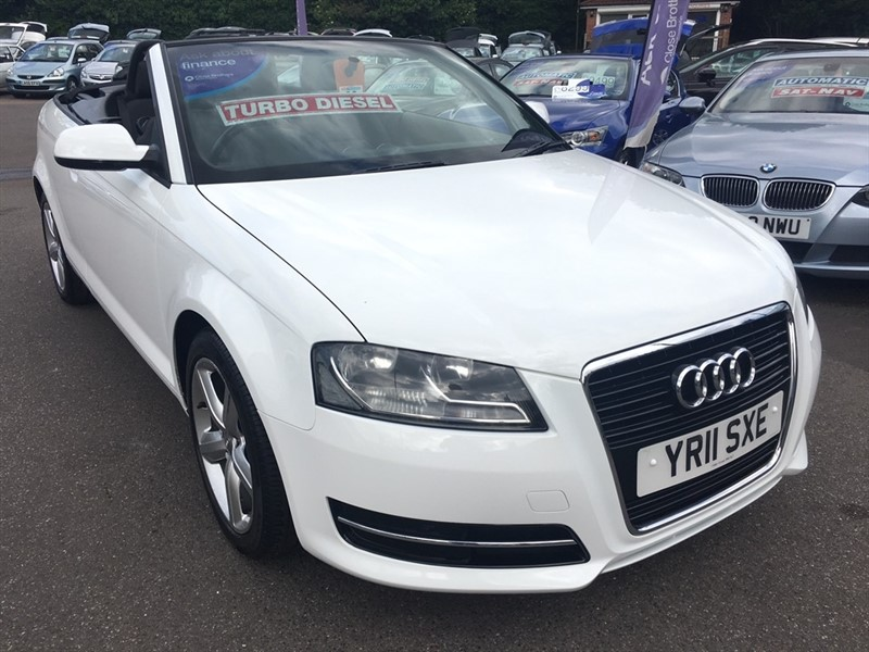 used Audi A3 Cabriolet TDI Technik 2dr in rochester-kent