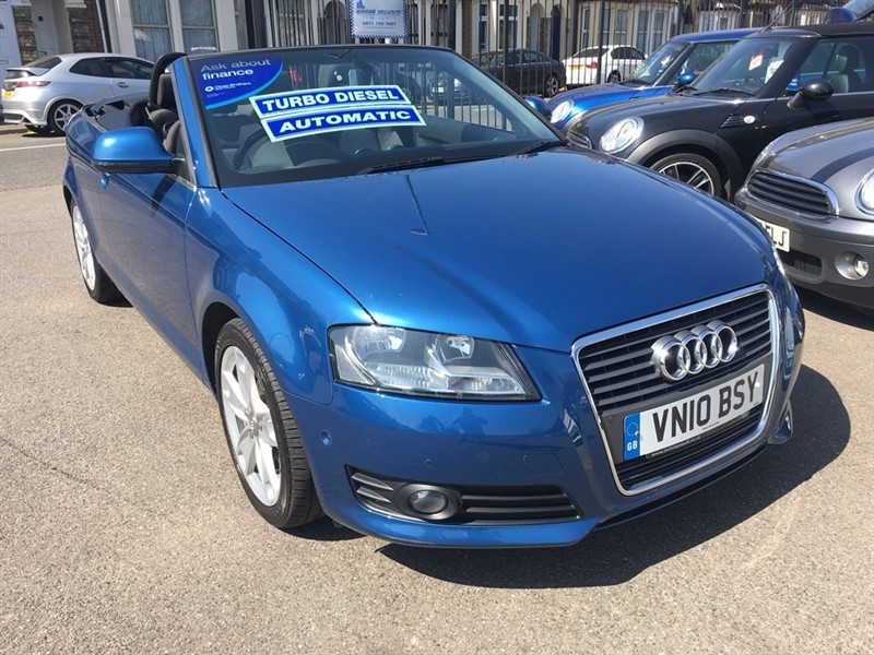 used Audi A3 Cabriolet TDI Sport S Tronic 2dr in rochester-kent