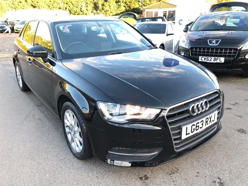 used Audi A3 TDI SE Sportback S Tronic 5dr in rochester-kent