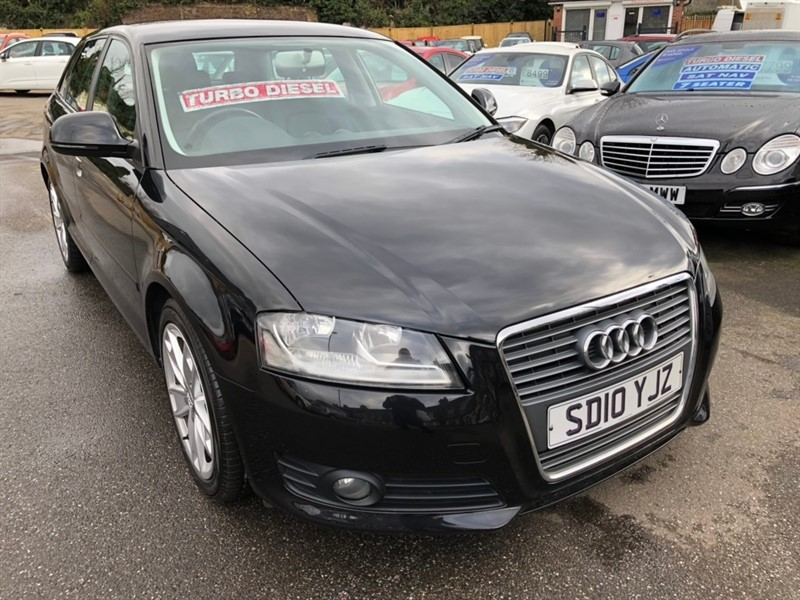 used Audi A3 TD Sport Sportback 5dr in rochester-kent