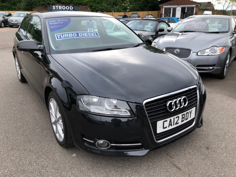 used Audi A3 TDI Sport 3dr in rochester-kent