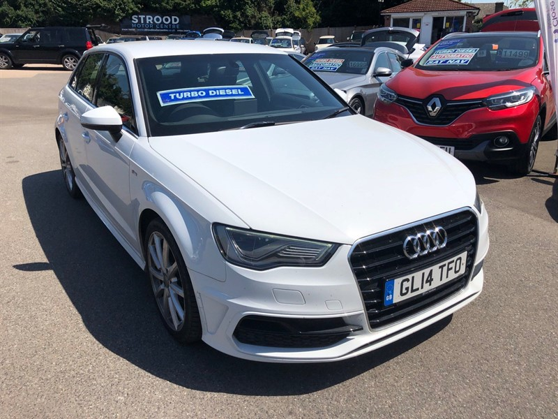 used Audi A3 S line Sportback in rochester-kent