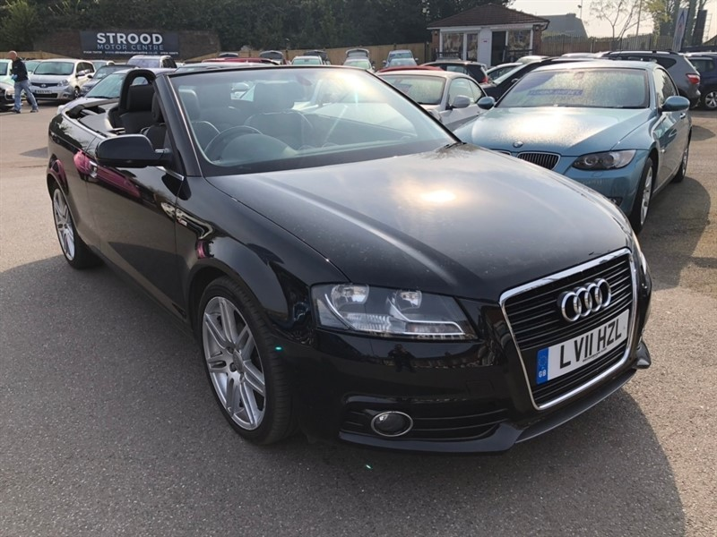 used Audi Cabriolet TFSI S line Tronic 2dr in rochester-kent