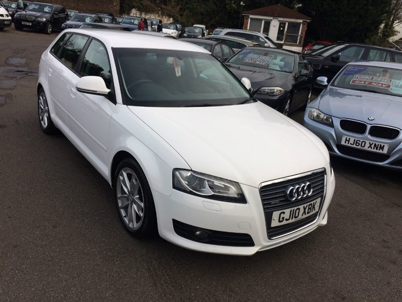 used Audi A3 TFSI Sport Sportback S Tronic Quattro 5dr in rochester-kent