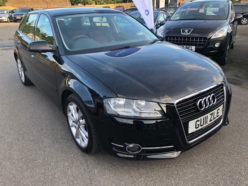 used Audi A3 TFSI Sport Sportback 5dr in rochester-kent