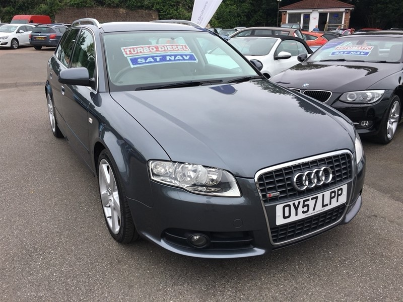 used Audi A4 Avant TDI S line 5dr in rochester-kent
