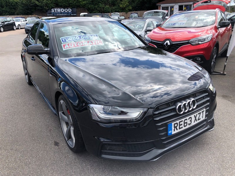 used Audi A4 Black Edition Multitronic in rochester-kent