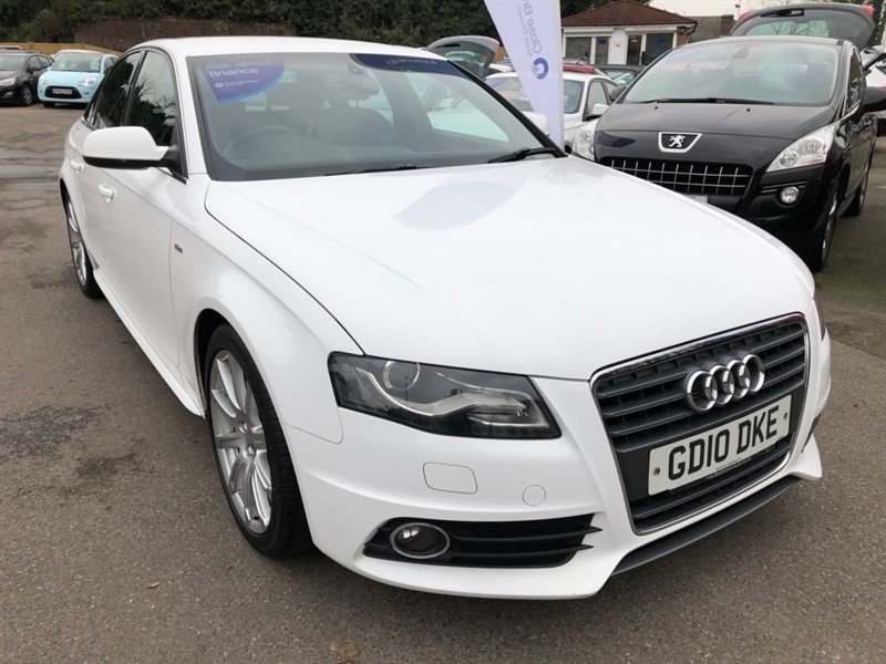 used Audi A4 TFSI S line 4dr in rochester-kent