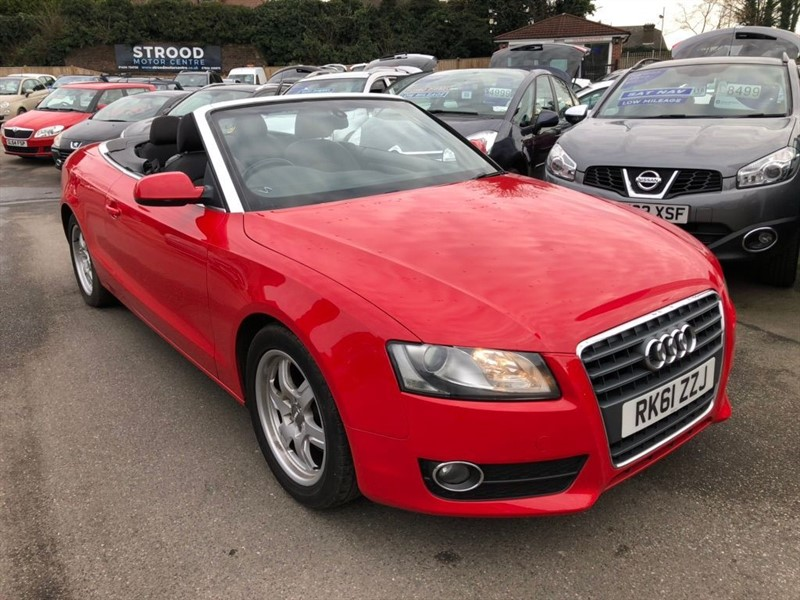 used Audi A5 Cabriolet TDI SE 2dr in rochester-kent