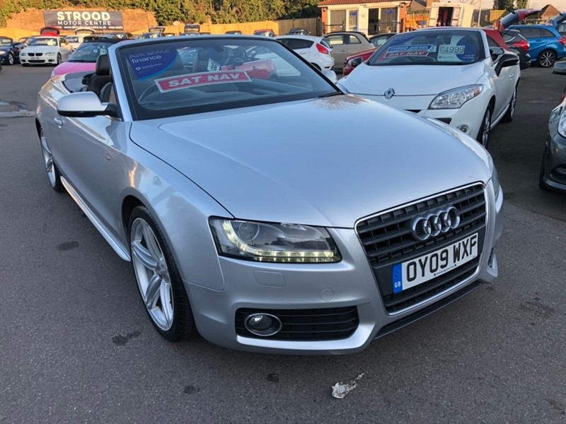 used Audi A5 Cabriolet TFSI S line 2dr in rochester-kent