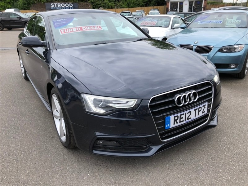 used Audi A5 TDI S line Sportback 5dr in rochester-kent