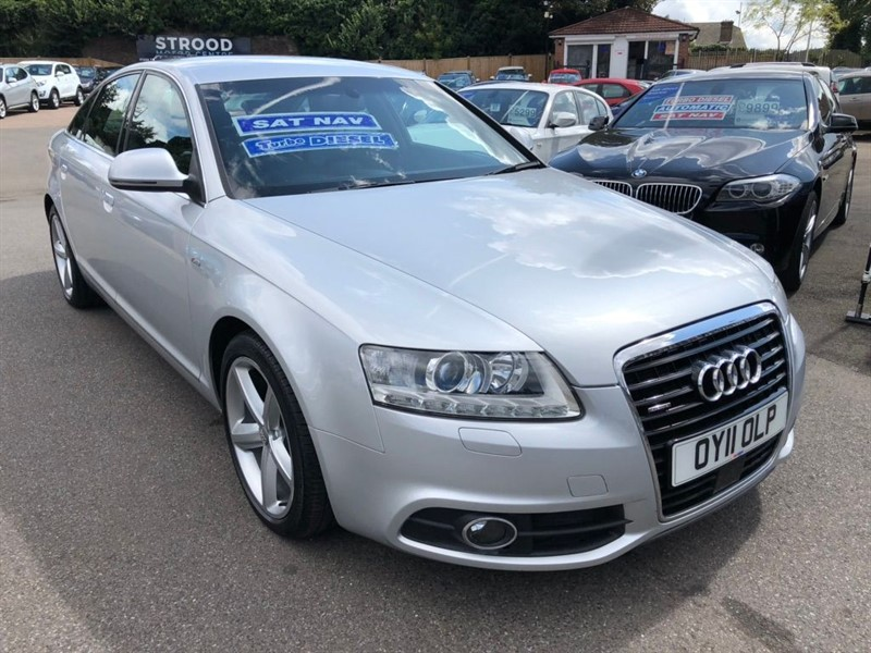used Audi A6 Saloon TDI S line quattro 4dr in rochester-kent